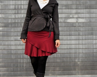 Organic Bamboo Fleece Wrap Skirt