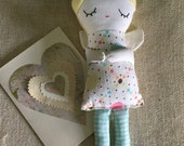 Little Angel Valentine Dolly Small Doll Soft Toy Guardian Angel Doll