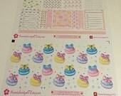 Yummy Macarons Planner Stickers~