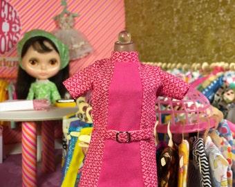 Super Mod Pink Diamond Blythe Doll Dress