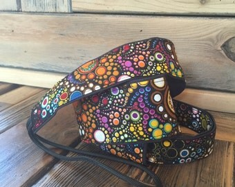 Vegan Mandolin Strap-Galactic pattern-Made to order, a-style or f-style