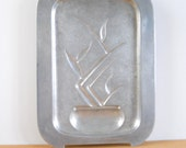 Vintage Wagner Ware Sizzling Platter • Magnalite Sidney 4341 Footer Platter • Vintage Cast Aluminum Bacon Griddle