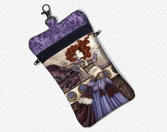 A Singular Wish Amy Brown Steampunk fairy cell phone bag
