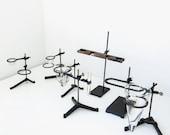 vintage industrial lab stand