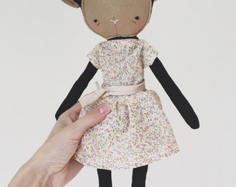 "the foundlings | handmade cloth lamb doll | ""stella"""
