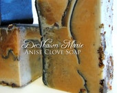 CYBER MONDAY SALE Anise Clove Soap - Vegan Soap - Handmade Soap - Spiced Soap- Soap Gift