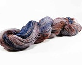 150 Yards Hand Dyed Crochet Thread Size 10 Cotton Thread 3 Ply Speckled Brown Blue Violet Burgundy Fine Cotton Yarn