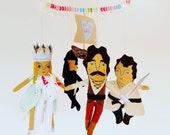 The Princess Bride Baby Mobile //  A mobile for parents who want their babies to believe in true love