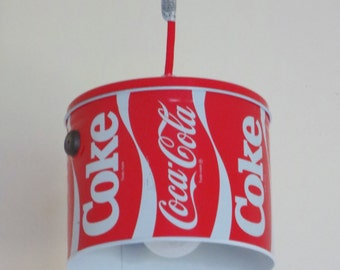 Coca-Cola pendant light - plug-in or install