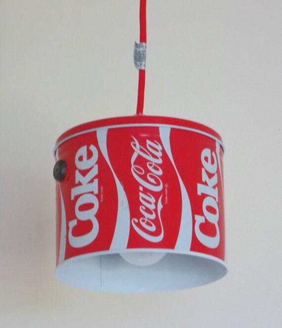 Coca-Cola pendant light - plug-in or install