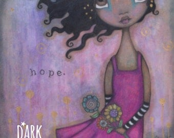 Hope - 8x10 Original Illustration