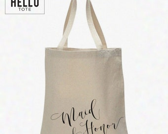 Custom Order for lmbrantley2016 | Jumbo Maid of Honor Tote Bags