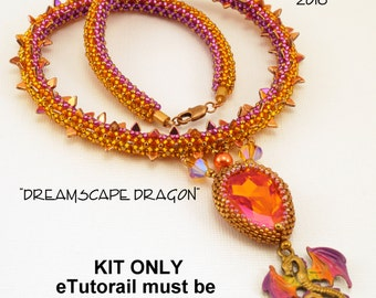 KIT ONLY for Dreamscape Dragon Necklace