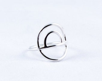 Triple Hoop Large Ring II