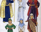 McCalls 2340 UNCUT Boys and Girls Nativity Costume Pattern Size Ex-Small 4-6