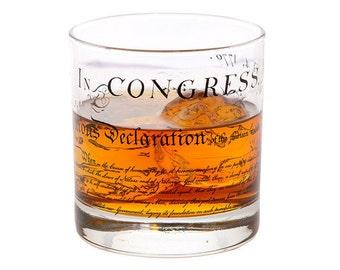 Declaration Rocks Glass