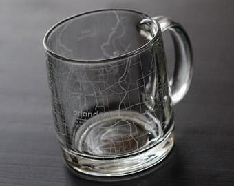 Orlando Map Coffee Mug