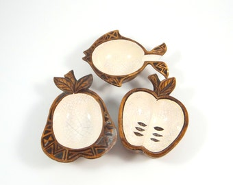Mid Century Modern Treasure Craft Pottery Bowls