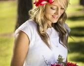 Maya Floral Crown Silk Fl...