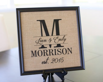 Personalized Calligraphy Wedding Sign Bridal Shower Gift Wedding Present Custom Decor (item number NVMHDA1267)