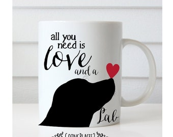 Lab Mug, Labrador Gifts, Labrador Art, Labrador Retriever Art, Labrador Retriever, Dog Mug, Dog Lover Gift, Dog Gifts, Dog Rescue, Lab Art