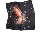 Galaxy Silk Handkerchief