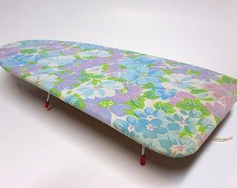 Portable Ironing Board, Travel or Home, Travel Accessory, Folds Flat,  Set Prop