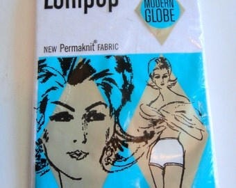 Lollipop Brand Vintage Underwear BRAND NEW package - Modern Globe Trunk Size 6