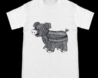 Pig/Hog -Zen T Shirt-Customiize