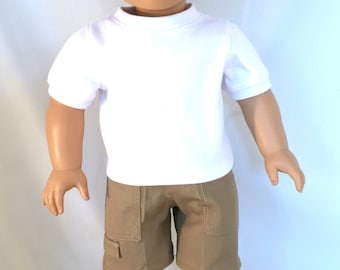 American Girl Boy Doll, He is a Blonde with Brown Eyes OOAK
