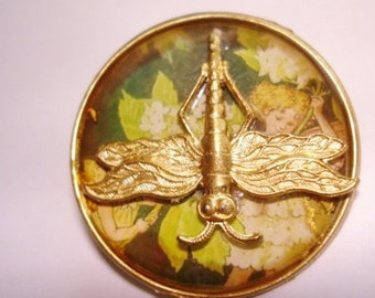 Child Dragonfly Brooch