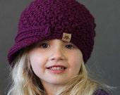 Crochet PATTERN Cumberland Newsboy Cap Crochet Newsboy Hat Pattern Includes Sizes Newborn to Adult