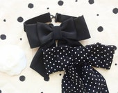 NEW  My Day Bow tie/ Polka dot bow tie/Hand made in USA/ gift for her/