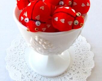 Mini Red Velvet Lady Bugs / Valentine's Day