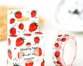 Sweet Strawberry deco washi masking tape
