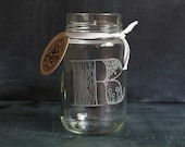 DOODLE-WARE Drinking Jar (P-T) - ST099