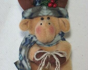 "Moose pattern:  ""Jingle Moose"" - #481"