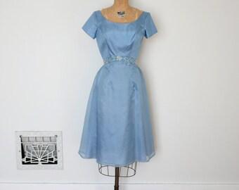 ON SALE - Vintage 1960s Dress - 60s Party Dress - The Lou