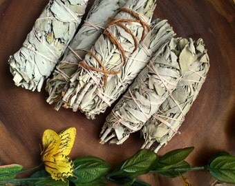WILD LAVENDER SMUDGE Stick - dried lavender bundle - Powerful  Cleansing - Clear Negative Energy - Heal - Dried Lavender Smudge -