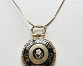 Victorian Mourning Locket with Photo