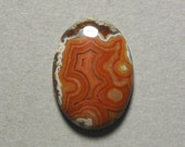 Reserved Listing DRYHEAD LACE AGATE oval cabochon 18X25mm designer cab