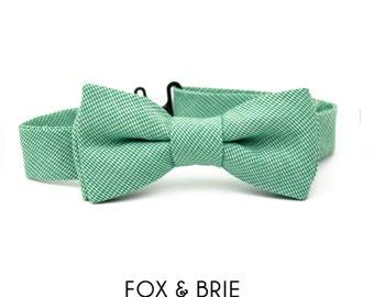 Emerald Kids Bow Tie