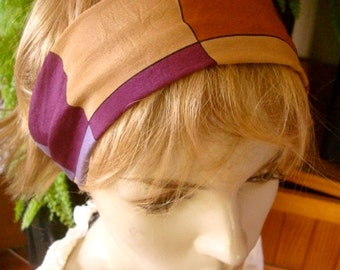 womens Headband silk Wide Headband  Comfortable Yoga turband Alopecia silk