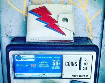 David Bowie Wallet, Aladdin Sane, Limited Edition Handmade
