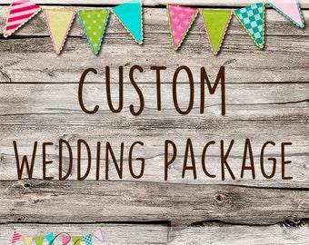 Custom Made Wedding Stationery Package - Party - Invitation - Wedding - Custom Made