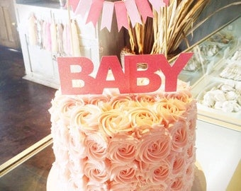 Baby Cake Topper Package