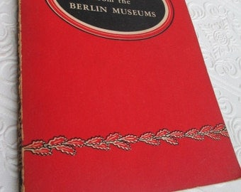 Masterpieces from the Berlin Museums 1949 Vintage Book Illustrations Art Artwork Paintings