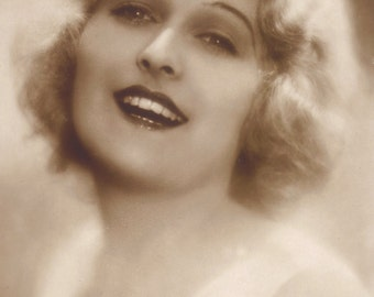 Lee Parry, German Silent Film Actress circa 1920s by Ross Verlag.