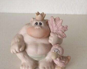 Precious Moments Figurine/ To My Favorite Fan/Gorilla Figurine/ Samuel J. Butcher/ By Gatormom13