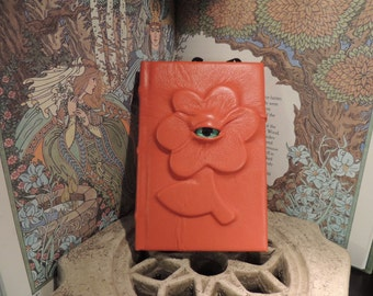 Mythical Beast Book (Orange Flower with Green eye)